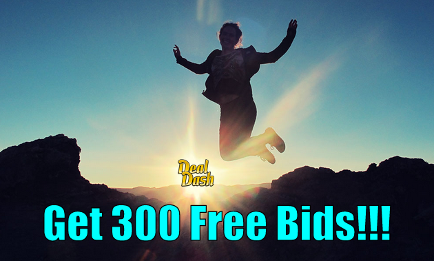 How i get 300 free dealdash bids every week dealdash reviews for Get bids