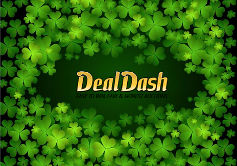 "St Patricks Day ""Free Auction Win"" Special On DealDash"