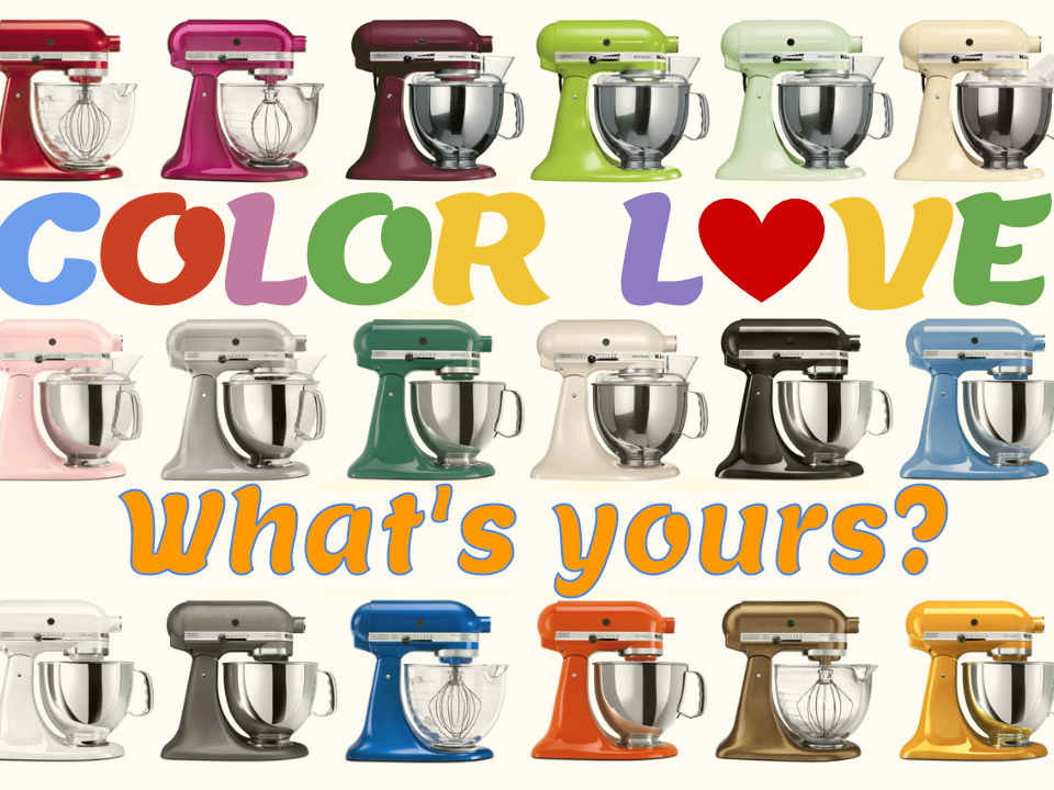 Color Love KitchenAid DealDash
