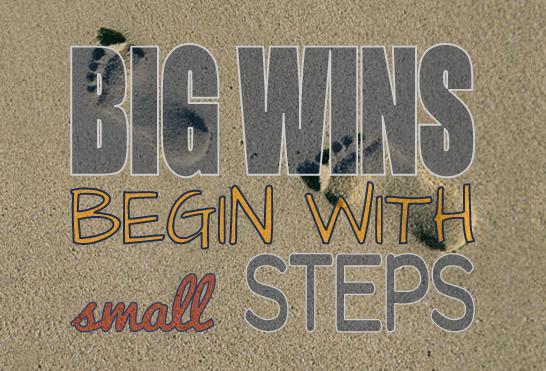 Big Wins Small Steps DealDash