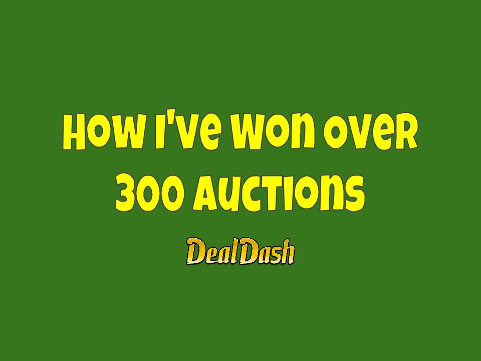 How I've Won Over 300 Auctions on DealDash