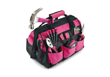 Pink Tool Set Sold on DealDash and not other bidding sites