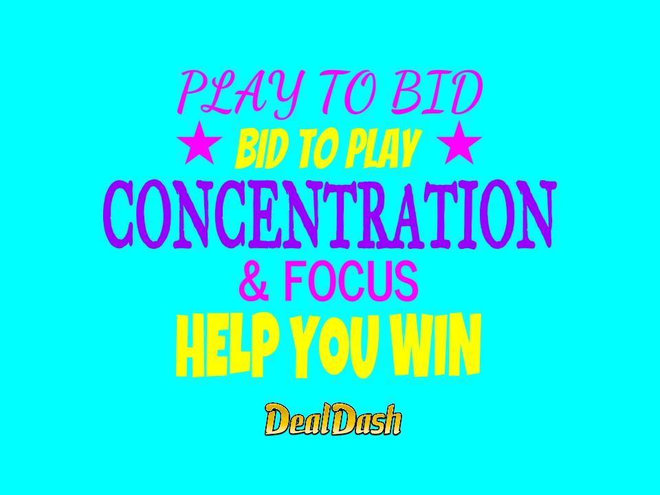 Play to Bid Bid to Play on DealDash