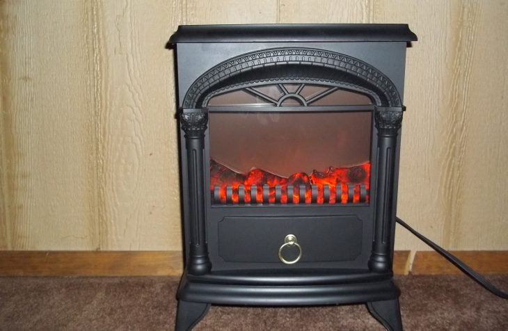 Electric Fire Place Review Won on DealDash.com