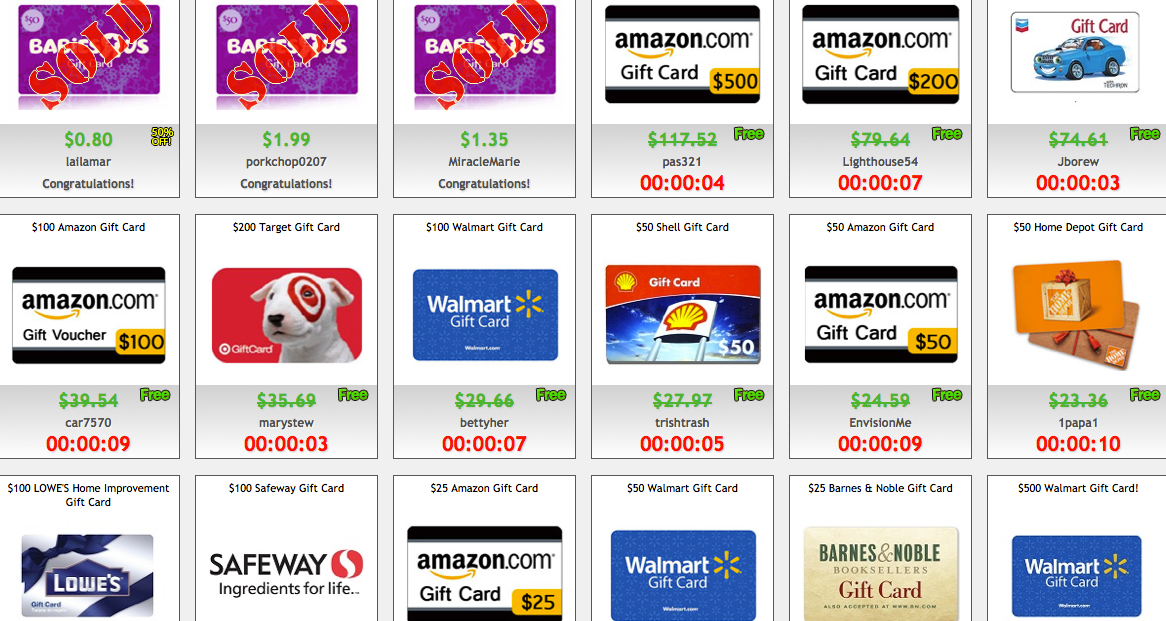 Save With Gift Cards On Deal Dash Dealdash Reviews