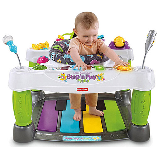 Fisher Price Step N Play Piano toy won on DealDash