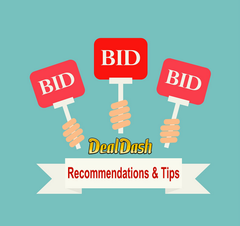 bidding recommendations and tips