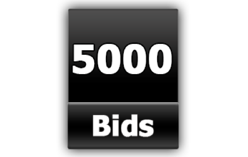 5000 Bid Pack is the Biggest