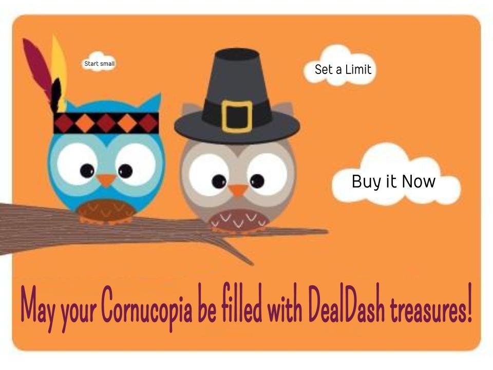 Thanksgiving DealDash