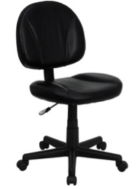 Leather Ergonomic Desk Chair