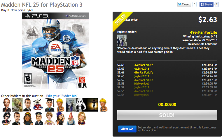 madden for ps3