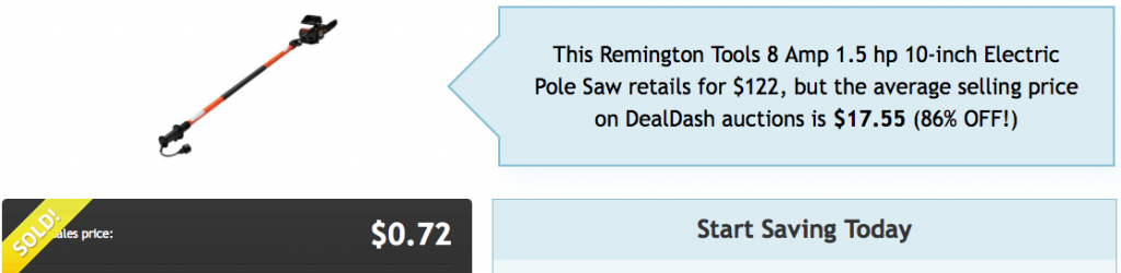 Remington Pole Saw