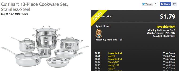 Cuisinart Stainless Steel Cookware 13-Piece Set
