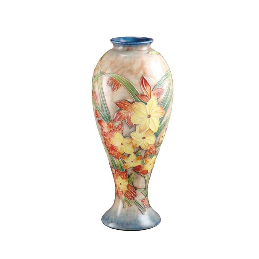 Dale Tiffany Spring Time Porcelain Vase