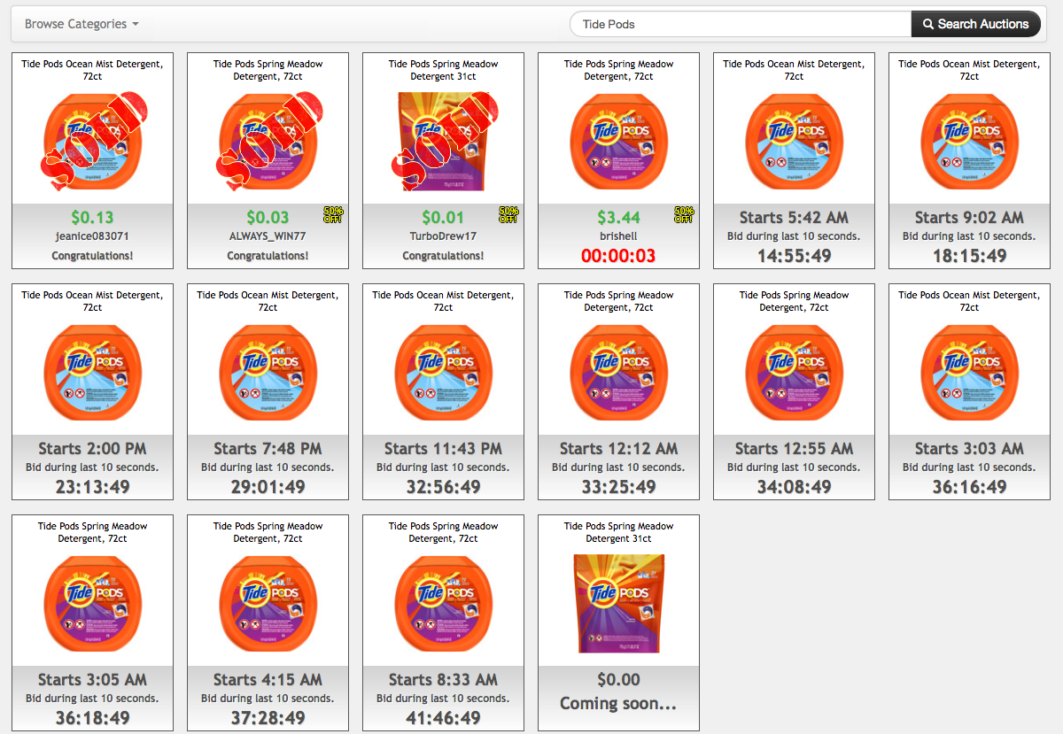 Deals on Tide Pods