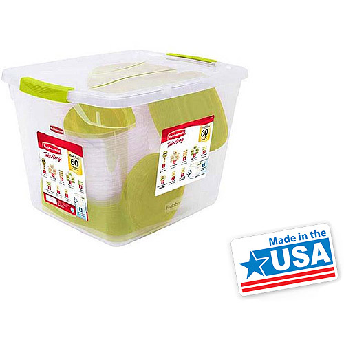 rubbermaid container set