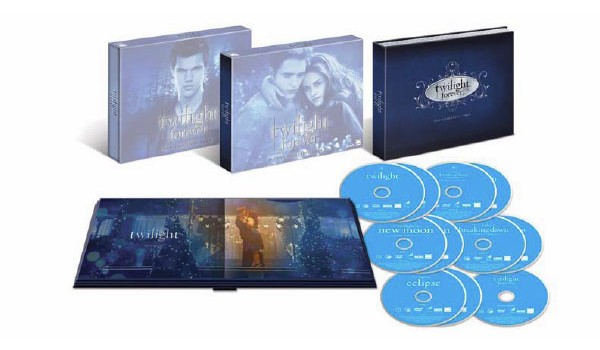 twilight forever the complete saga blu ray