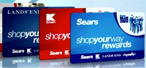kmart sears  lands  gift cards   combined