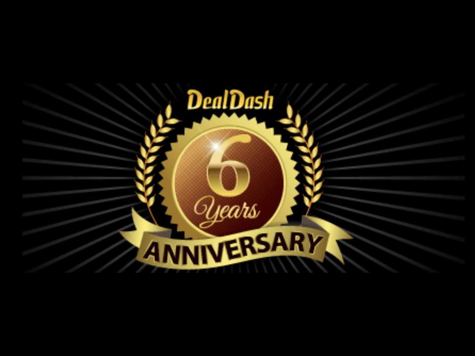 Six Year Celebration on DealDash