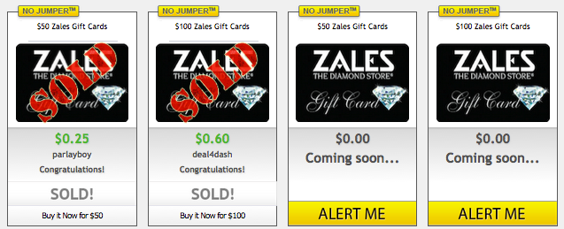 Zales Gift Cards