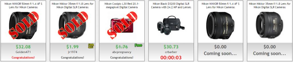 Nikon Cameras and Accesories